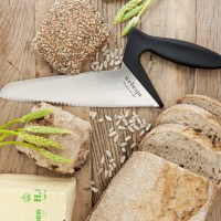 Breadknife bread light square